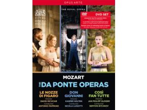 ROYAL OPERA / PAPPANO / BYCHKOV - Wolfgang Amadeus Mozart: Le Nozze Di Figaro / Don Giovanni / Cosi Fan Tutte (DVD)