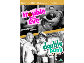 Comedy Capers: Trouble With Eve / Double Bunk (DVD)