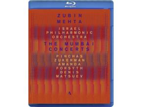 ISRAEL PO/MEHTA - The Mumbai Concerts (Blu-ray)
