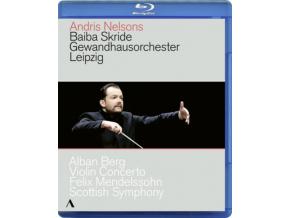 SKRIDE/GEWANDHAUS/NELSONS - Berg/Violin Concerto (Blu-ray)