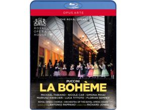 ROYAL OPERA/PAPPANO - Puccini/La Boheme (Blu-ray)