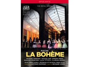 ROYAL OPERA/PAPPANO - Puccini/La Boheme (DVD)