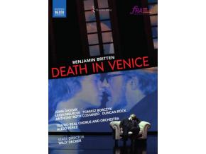 DASZAK / TEATRO REAL / PEREZ - Britten: Death In Venice (DVD)