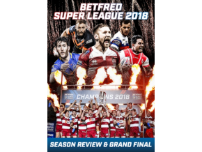 Betfred Super League 2018 - Season Review & Grand Final (DVD)