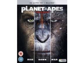 PLANET OF THE APES TRILOGY BOXSET 4K UHD (Blu-ray 4K)