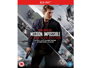 Mission: Impossible - The 6-Movie Collection (Blu-ray + Bonus Disc) [2018]