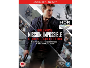 Mission Impossible 1-6 Movie Collection (Blu-ray 4K)