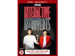 Dan & Phil Interactive Introverts Live Blu Ray & DVD Pack (Blu-ray)