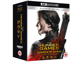 Hunger Games. The (Complete 1-4) (Blu-ray 4K)