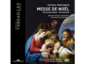 GABRIELI CONSORT & PLAYERS / PAUL MCCREESH - Praetorius: La Messe De Noel / Christmas Mass (DVD)