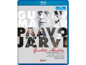 GUSTAV MAHLER - Mahler:Symphonies Nos. 3 & 4 (Blu-ray)