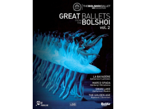 VARIOUS ARTISTS - Great Ballets Bolshoi Vol.2 (DVD)