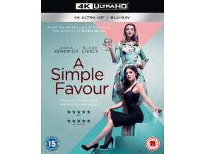 A Simple Favour (Blu-ray 4K)