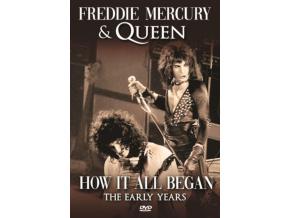 FREDDIE MERCURY & QUEEN - How It All Began (DVD)