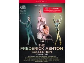THE ROYAL BALLET - The Frederick Ashton Collection. Volume 1 (DVD)