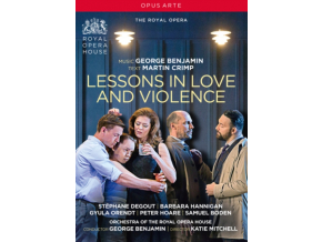 THE ROYAL OPERA - George Benjamin: Lessons In Love And Violence (DVD)