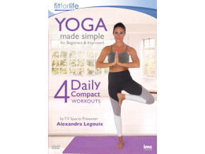 Yoga Made Simple - 4 Daily Compact Workouts - For Beginners And Improvers. (DVD)