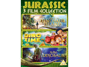Jurassic 3 Film Collection (DVD)