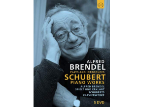 ALFRED BRENDEL - Alfred Brendel Plays And Introduces Schubert (DVD)