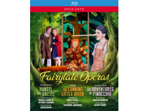VARIOUS ARTISTS - Fairytale Operas: Hansel And Gretel / The Cunning Little Vixen / The Adventures Of Pinocchio (Blu-ray)