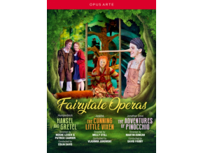 VARIOUS ARTISTS - Fairytale Operas: Hansel And Gretel / The Cunning Little Vixen / The Adventures Of Pinocchio (DVD)