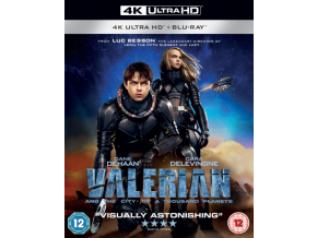 Valerian And The City Of A Thousand Planets (Blu-ray 4K)