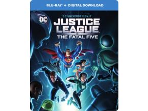Justice League: Fatal Five (Steelbook) (Blu-ray)