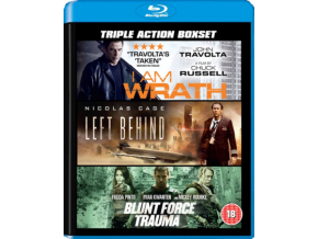 The Ultimate Triple Box Set (I Am Wrath / Left Behind / Blunt Force) (Blu-ray)