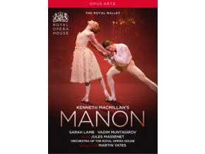 VARIOUS ARTISTS - Kenneth Macmillans Manon (DVD)
