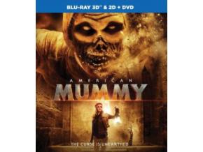 American Mummy 3D & 2D (Blu-ray + DVD)