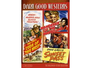 Darn Good Westerns Vol 3 (Code of the West  Sunset Pass  Wanderer of the Wasteland) (DVD)