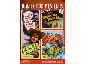 Darn Good Westerns Vol 4 (Thunder Mountain  Under the Tonto Rim  West of Pecos) (DVD)