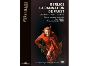MATHIAS VIDAL / ANNA CATERINA ANTONACCI / MARGUERITE LOUSIE CHOIR / LES SIECLES / FRANCOIS-ZAVIER ROTH - Berlioz: La Damnation De Faust (DVD)
