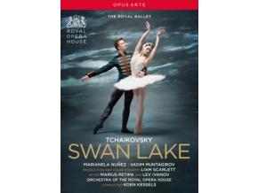 ROYAL BALLET - Pyotr Ilyich Tchaikovsky: Swan Lake (DVD)