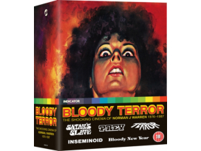 Bloody Terror: The Shocking Cinema Of Norman J Warren. 1976-1987 (Blu-ray)