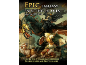 MIKE SASS - Mike Sass - Epic Fantasy Painting In Oils (DVD)