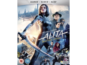 Alita: Battle Angel 3D + 4K + Bd (Blu-ray 4K)