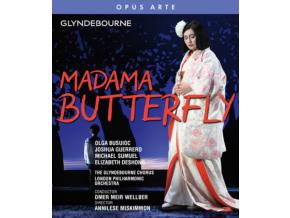 VARIOUS ARTISTS - Giacomo Puccini: Madama Butterfly (Blu-ray + DVD)