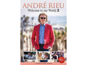 ANDRE RIEU & HIS JOHANN STRAUSS ORCHESTRA - Welcome To My World (DVD)