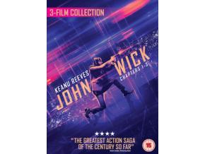 John Wick 1/2/3 Triple Boxset (Blu-ray)