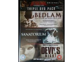 Bedlam/Sanatorium/Devilis Night (DVD)