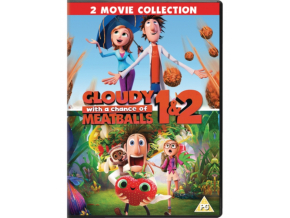 Cloudy With A Chance Of Meatballs 1&2 (Non Uv) (DVD)