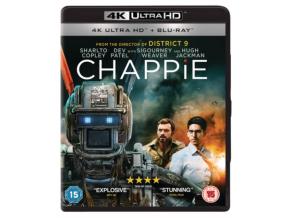 Chappie (Uhd & Bd - 2 Discs) (Non Uv) (Blu-ray 4K)
