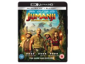 Jumanji: Welcome To The Jungle (Uhd & Bd - 2 Discs) (Non Uv) (Blu-ray 4K)