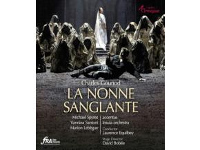 SOLOISTS / ACCENTUS / EQUILBEY - Charles Gounod: La Nonne Sanglante the Bleeding Nun (Blu-ray + DVD)