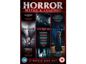Horror Myths & Legends Boxset (The Babadook / It Follows / Let Me In) (DVD)