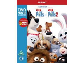 Secret Life Of Pets 1 & 2 (Blu-ray)