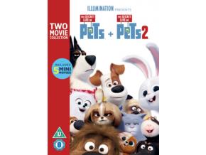 Secret Life Of Pets 1 & 2 (DVD)