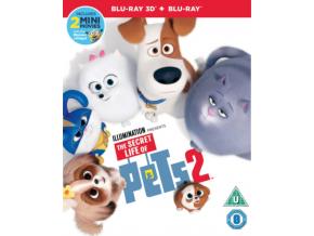 Secret Life Of Pets 2 3D (Blu-ray 3D)