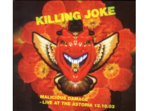KILLING JOKE - Malicious Damage - Live At The Astoria 12.10.03 (DVD)